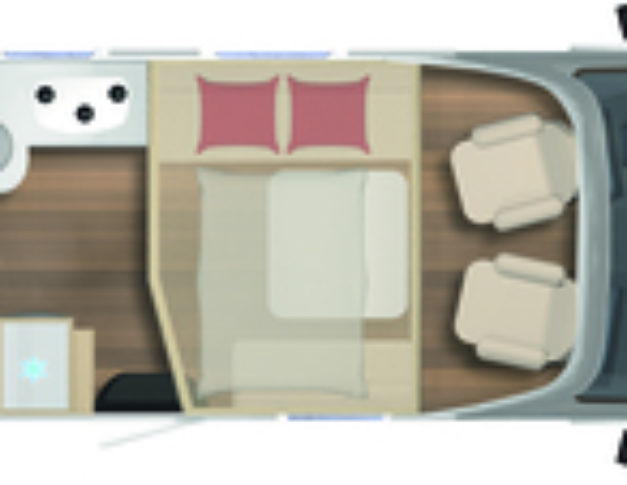 Autocaravana nueva Bürstner Delfin 680 G Harmony Line