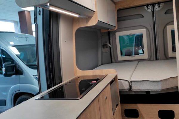 Furgoneta camper nueva Clever Vans Tour 540