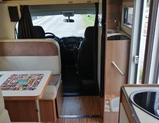 Autocaravana de alquiler PLA Mister 440