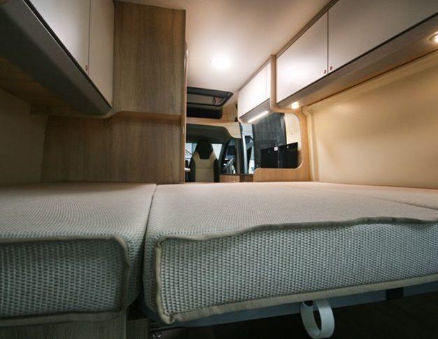 Furgoneta camper nueva Clever Tour 540 Techo Elevable