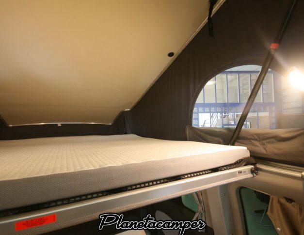 Furgoneta camper nueva Ford Nugget Westfalia Techo Elevable