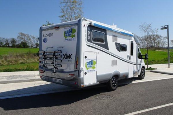 Autocaravana de alquiler Ilusion XMK 690