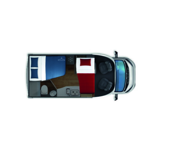 Autocaravana de alquiler Giotiline S 330