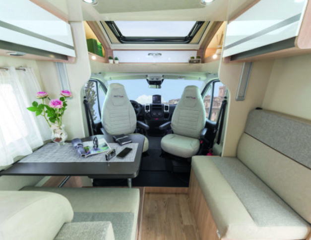 Autocaravana de alquiler Giotiline S 390