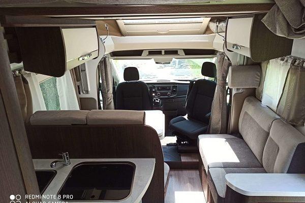 Autocaravana de alquiler Benimar 463UP