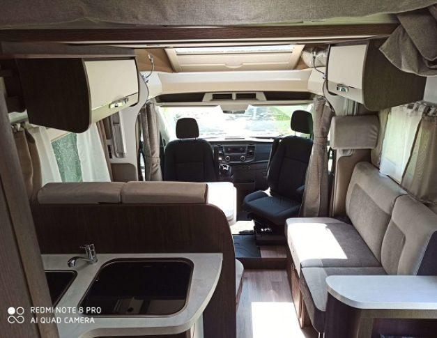 Autocaravana de alquiler Benimar 463 UP