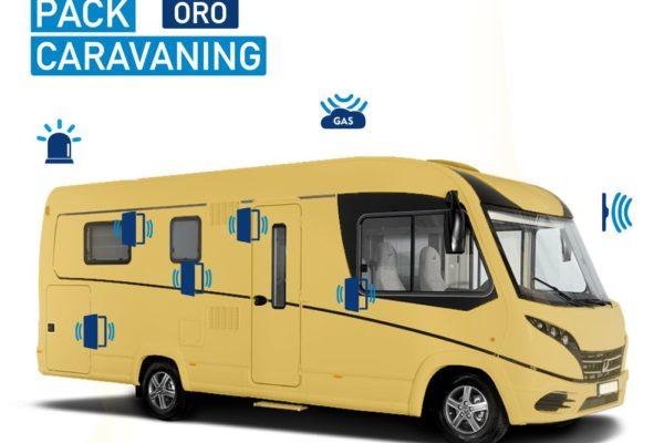 Alarma para Autocaravana Pack Caravaning Oro