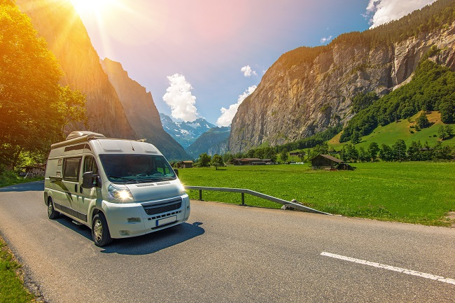 Alquiler de furgonetas camper en Oviedo