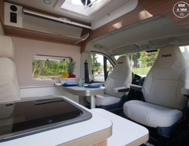Furgoneta camper de alquiler Pilote V600S Exclusive Edition
