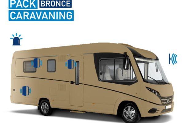 Alarma para Autocaravana Pack Caravaning Bronce