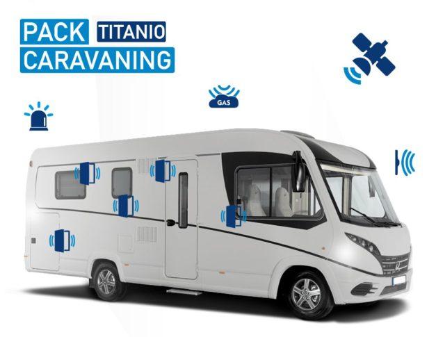 Alarma para Autocaravana Pack Caravaning Titano
