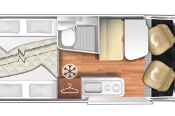 Camper de alquiler CI Kyros 5