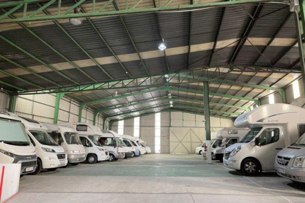 Parking de caravanas autocaravanas y furgonetas campers en Redondela