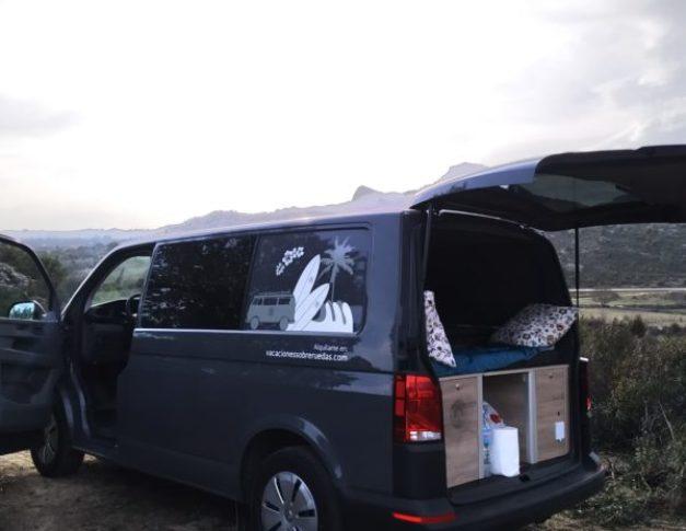 Furgoneta camper de alquiler Volkswagen T6