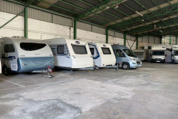 Parking de caravanas autocaravanas y furgonetas campers en Redondela Pontevedra