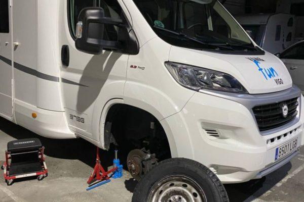 Taller de autocaravanas, caravanas y furgonetas camper en Redondela
