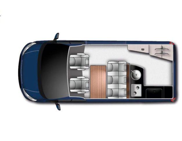 Camper nueva Ford Nugget Westfalia
