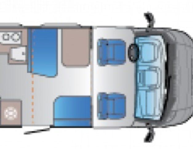 Autocaravana de alquiler Sun Living S75 SL