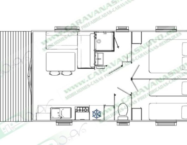 Mobil Home nueva Evolution 33 Tp
