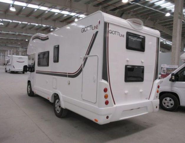 Autocaravana nueva Giottiline Siena 435