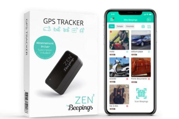 Tracker GPS ZEN2 by Beepings