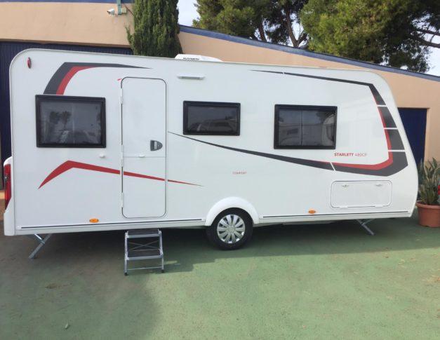 Caravana nueva Sterckeman Starlett Comfort 480 CP