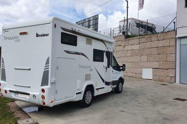 Autocaravana de segunda mano Benimar Tessoro 440UP