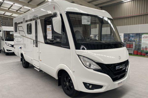 Autocaravana nueva Hymer BMC I 580