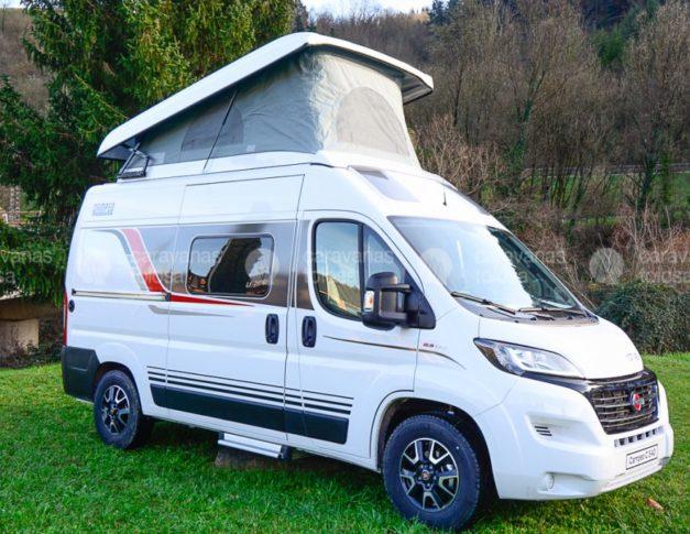 Camper nueva Bürstner Campeo 540 con techo elevable