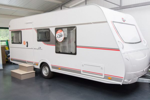 Caravana nueva Bürstner Premio 490 TS