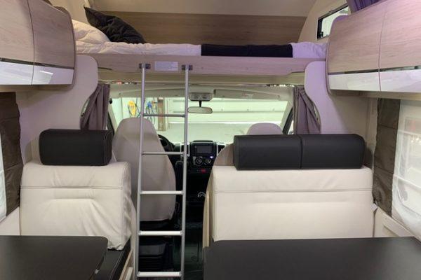 Autocaravana de alquiler Challenger C256