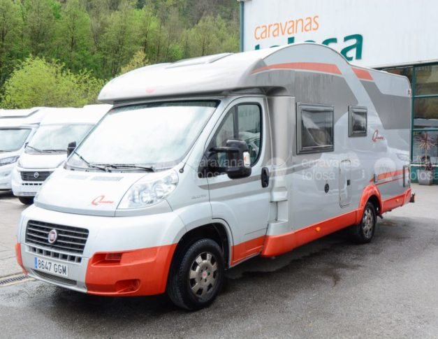 Autocaravana de ocasión Bürstner Quadro T 664