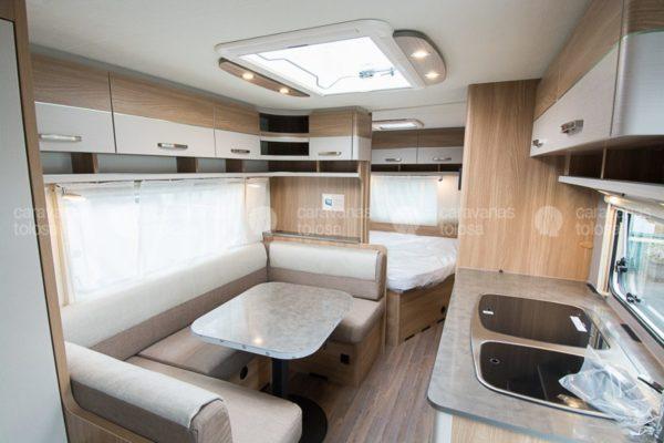Caravana nueva Bürstner Premio 550 TK