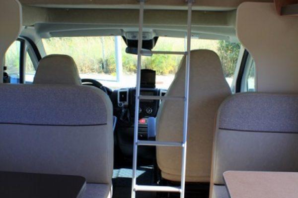 Autocaravana de alquiler Giottiline Siena 435