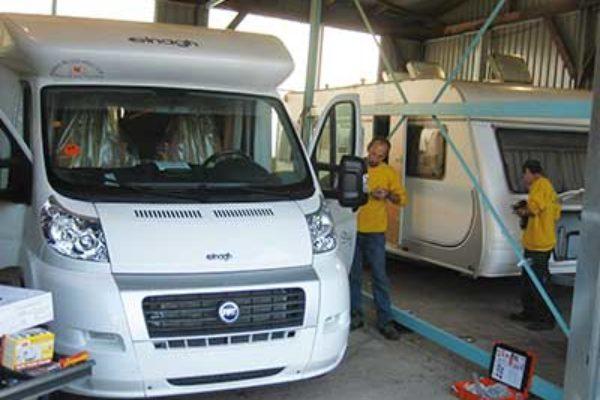 Taller de autocaravanas, caravanas y furgonetas camper en Castellón