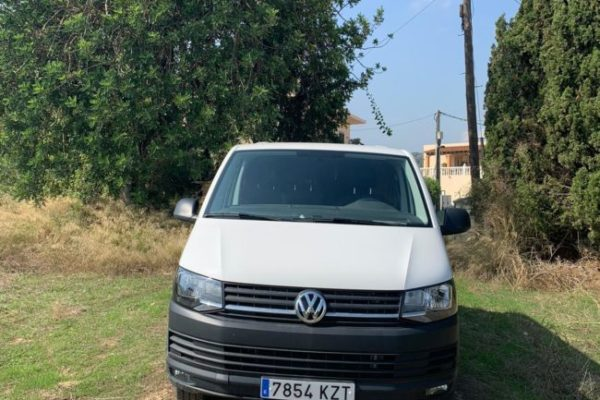 Volkswagen Transporter T6 de ocasión camperizada
