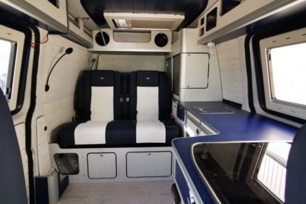 Furgoneta camper de alquiler Volkswagen T5 Neptune