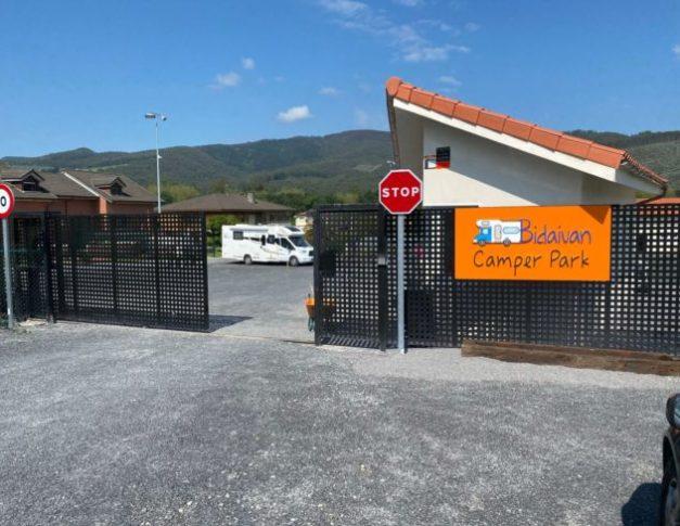 Área de servicios para autocaravanas en Guriezo