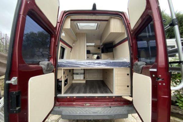 Camperizaciones de furgonetas camper en Los Molinos