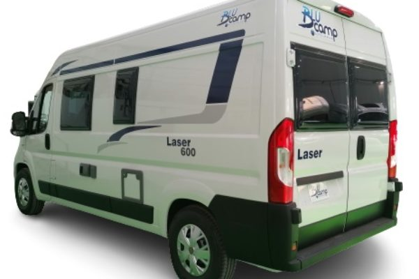 Camper seminueva Blucamp Laser 600 Max