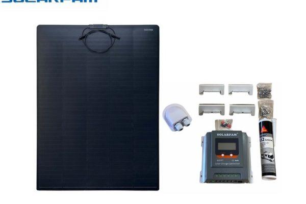 Kit Solar 180W Flexible Con Regulador MPPT 30AH