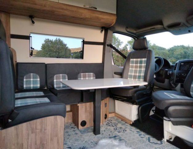 Volkswagen Crafter camperizada