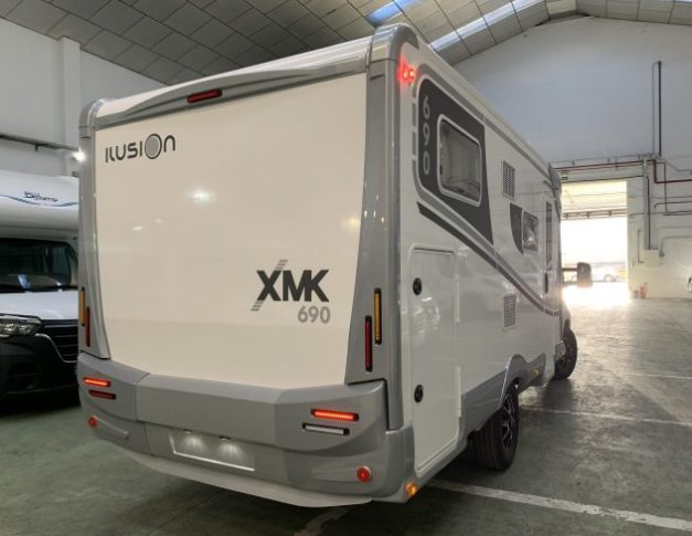 Autocaravana de ocasión Ilusion XMK 690